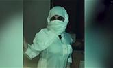 """沙特一女子穿男装开车被指""""反社会""""遭质问"""