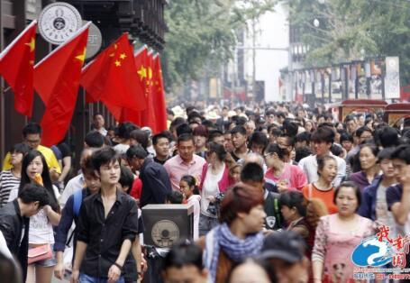 黄金周江苏访客预计增近两成 苏宁锡最受欢迎