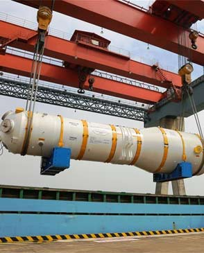 """中国自主核电""""华龙一号""""蒸汽发生器出厂"""