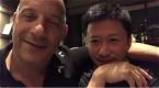 吴京和范·迪赛尔同框互称兄弟 透露即将一起合作
