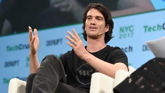 WeWork创始人兼CEO抛售自家公司1亿多美元股票