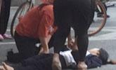 女子被货车撞晕 4名女路人合力施援获赞