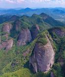航拍:龙南武当山