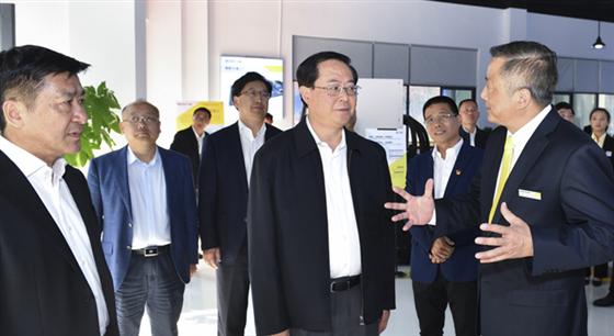 车俊在台州调研时强调 用党的十九大精神引领发展变革