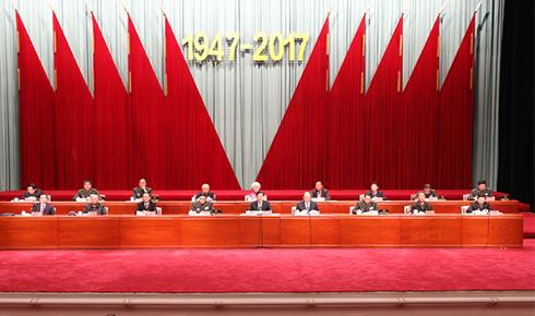 石家庄解放70周年纪念大会在石家庄市举行