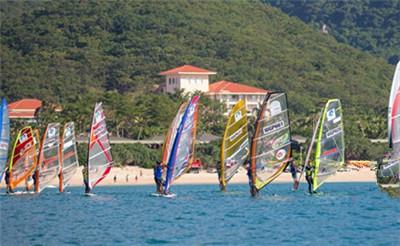 国际旅游岛帆板大奖赛三亚精英赛完美收帆