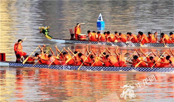 合川体文旅融合发展 中华龙舟大赛明日挥桨