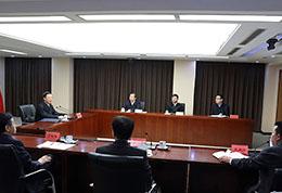张高丽在环境保护部调研并主持召开座谈会
