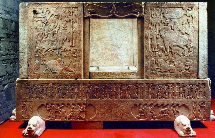 """十大考古发现文物现多处""""伤痕"""" 山西博物院这"""