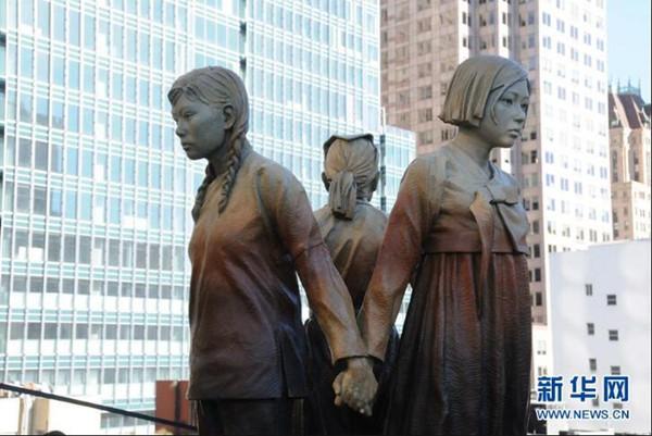 """美国旧金山市政府正式接受""""慰安妇""""纪念碑"""