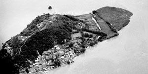 航拍1938年花园口决堤后的黄泛区