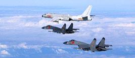 台战机拦截解放军军机遭警告:立即离开 否则后果自负