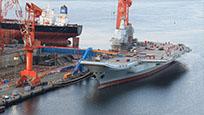 首艘国产航母已完成舾装 或正在进行联合测试