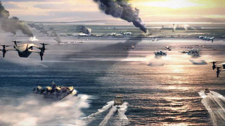 凤凰军机处第138期 大规模登陆能指望夺敌港口机场吗?