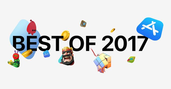 苹果2017年度最受欢迎APP大盘点