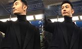 接地气!网友偶遇黄晓明坐地铁出行