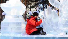 大学生冰雕艺术