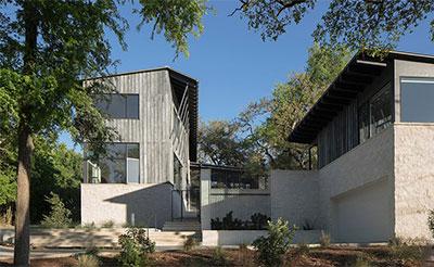 现代感的住宅 方寸间还有乡村的美学