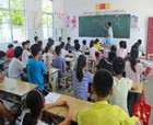 民權縣:村小學來了一群大學生志愿者