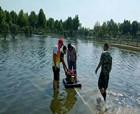 商丘睢陽區文化辦事處全力以赴幫助商丘師院排水減災