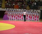 """""""繼璋公益杯""""第三屆中國式摔跤公開賽開幕式在商丘體育館舉行"""