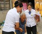 中原銀行商丘開發區支行上門貼心服務 感動臥床老年客戶