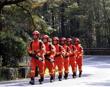黃山:秋季防火進景區
