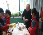 虞城第一實驗小學舉辦首屆冬至水餃文化節