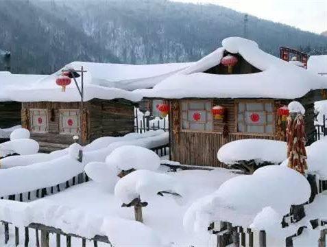 """威虎山""""雪村"""""""