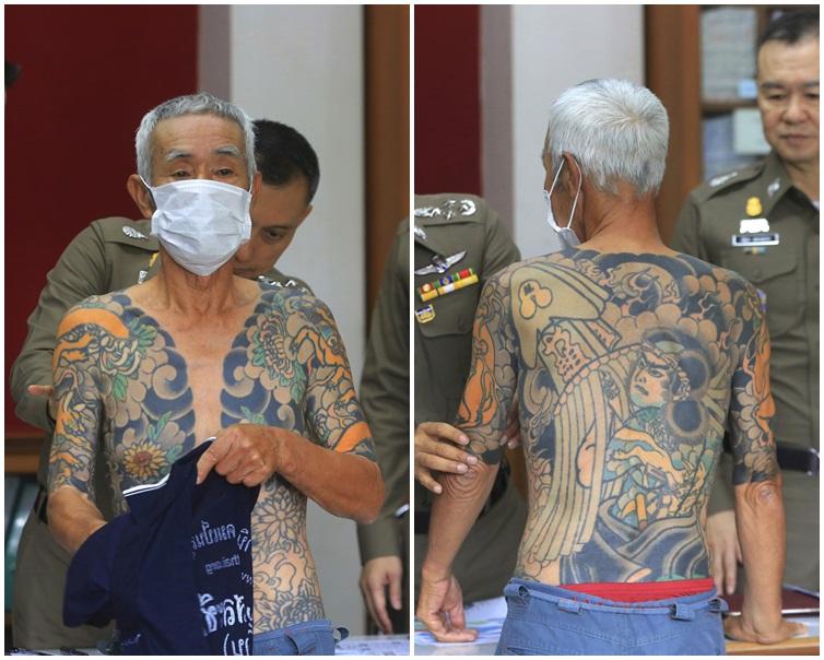 日本黑帮大佬逃亡泰国15年 因文身太惹眼成网红被捕[名妓米凯拉]