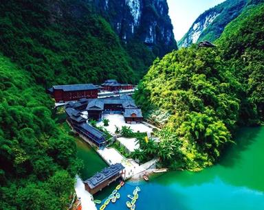 绿水青山变金山银山 彭水去年旅游综合收入91亿