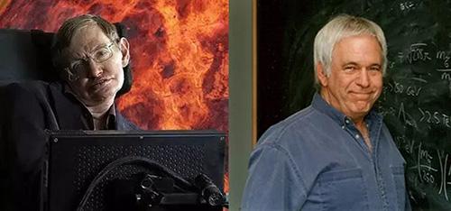霍金(左)与凯恩(右)