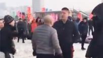 游客疑似在哈尔滨被承包商包围 全程被骂