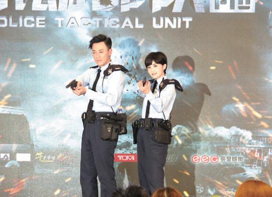 林峰穿警服拍戏超开心 避谈感情有事去问她