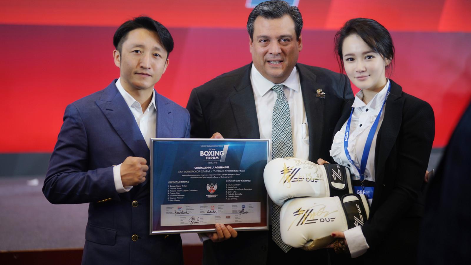 邹市明入选拳击名人堂 成中国拳击历史第一人