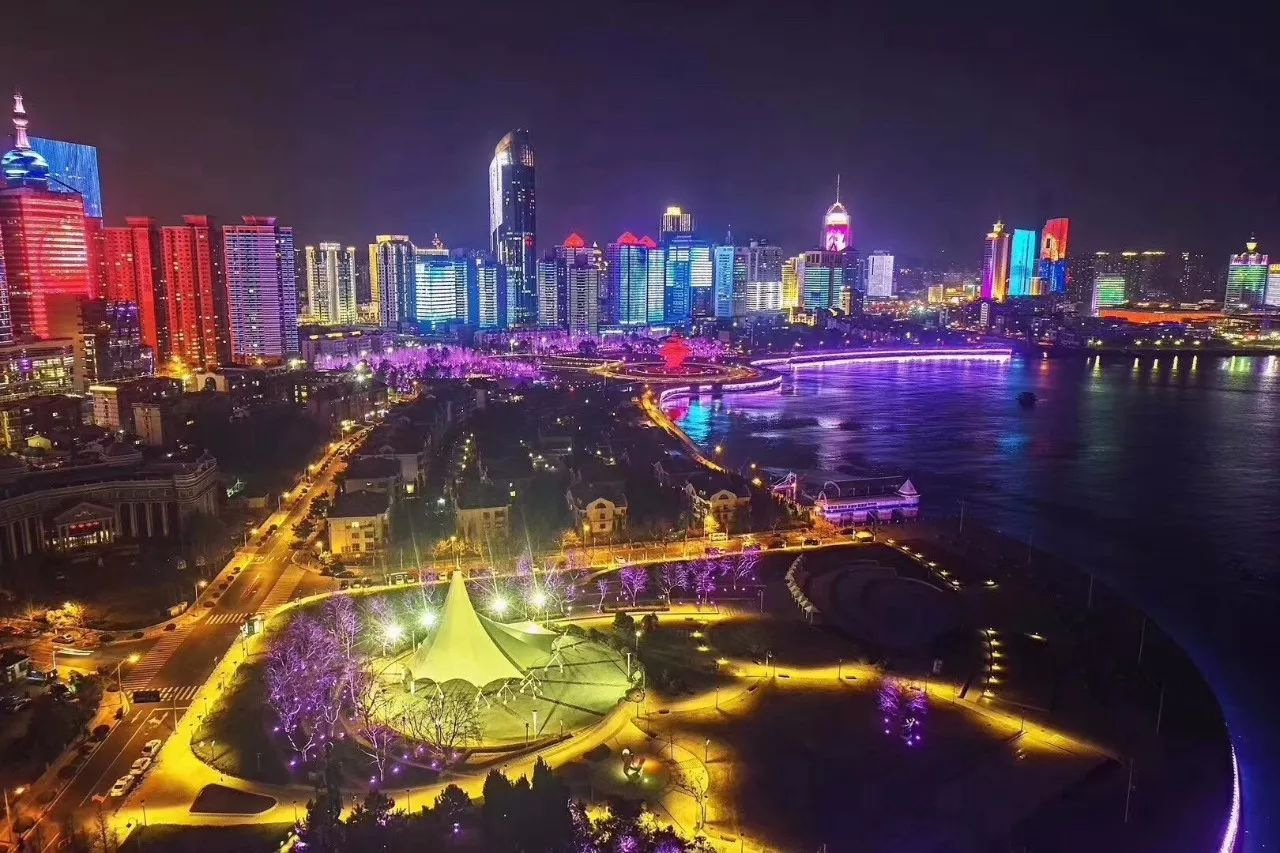 上合峰会青岛换新衣 全新夜景比肩北京杭州厦门