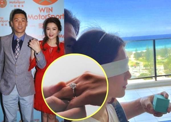 苟芸慧宣布婚讯 嫁富二代钻戒抢镜