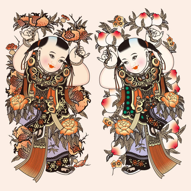 """春节的正确打开方式:传统年画飘出浓浓""""年味儿"""""""