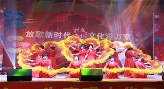 传统文化润人心 义乌何宅村举办村民联欢晚会喜迎新春