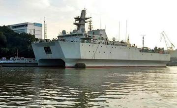 927型声纳探测船