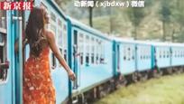 """中国游客在斯里兰卡""""挂火车""""拍照 不慎跌落头部受重伤"""