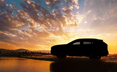 丰田全新RAV4预告图曝光 纽约车展亮相