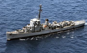 现役最古老护卫舰终于退休,曾在三国服役74年