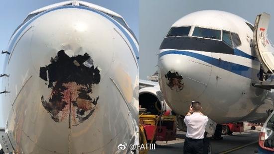 新闻益事  登录 据香港媒体报道,一架中国国际航空ca103客机,今天中午