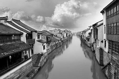 江南古运河水乡古镇景色 光明图片/视觉中国