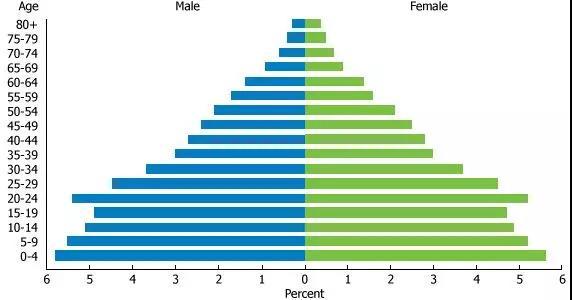 埃及人口分布图-为什么中东失业率这么高