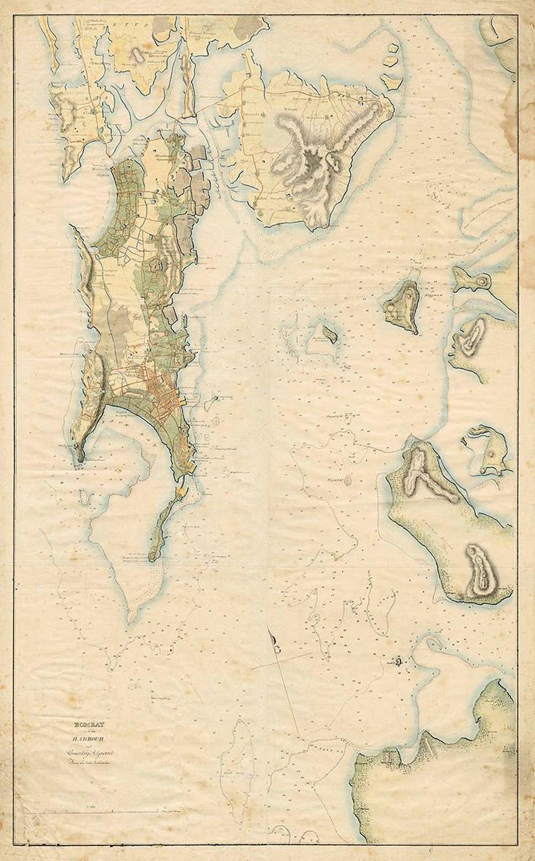 一位印度人收集5000多幅古地图 记录世界对印度的看法