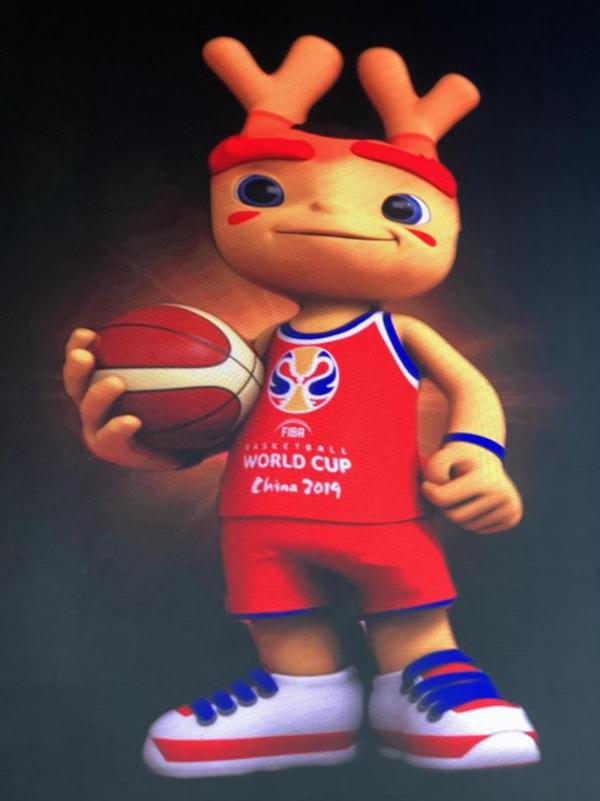 """2019年国际篮联篮球世界杯吉祥物""""梦之子""""正式发布"""