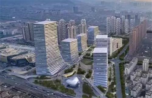 青岛国际院士港二期项目,海信全球研发中心项目,双星集团全球研发中心