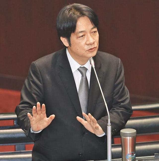 赖清德再飙狂言:台湾要严肃面对大陆崛起与并吞
